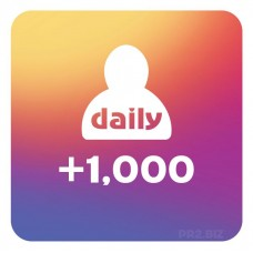 1,000 Instagram Followers Per Day