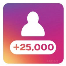 25,000 Instagram Followers