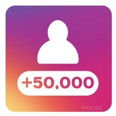 50,000 Instagram Followers