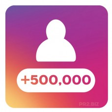 500,000 Instagram Followers