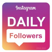 Instagram DAILY Followers